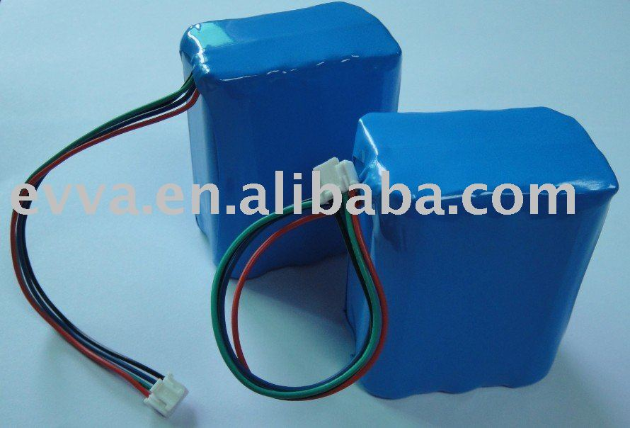 11.1V Battery Pack with SMBus for Fuel Gauge 6200mAh 3S2P