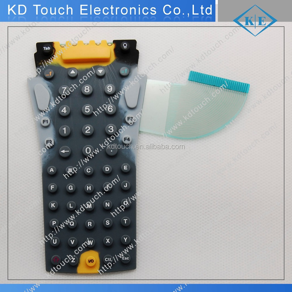 Silicone rubber with Membrane Switch Keypad
