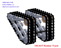 COPOWER ATV rubber track system snow track system (Direct factory)