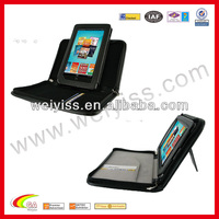 Portfolio Leather Case Cover for Nook Color / Nook Tablet