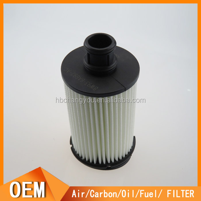 Factory price car oil filter used for jaguar 8W936A692AC
