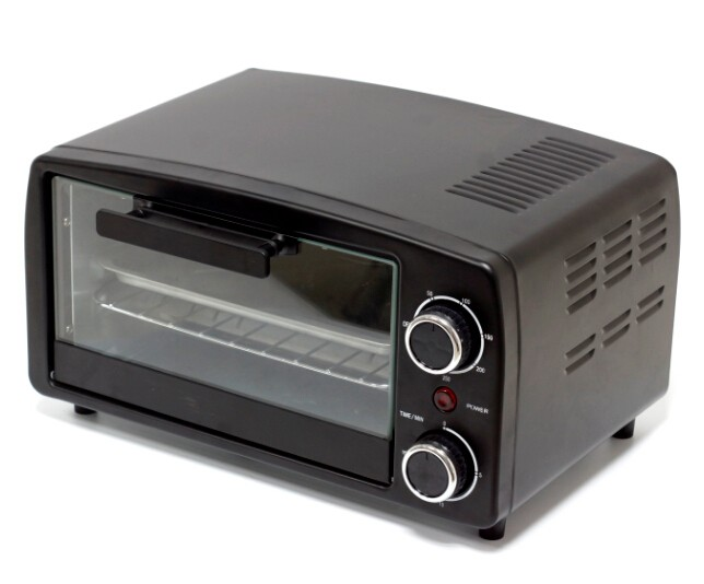 45L electric oven forno toaster double glass electric steam oven