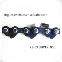 "garden tool parts made in China king chainsaw chain 3/8""LP 0.050 guage saw chain"