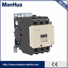 manhua normally closed air conditioning magnetic contactor telemecanique lc1-d40