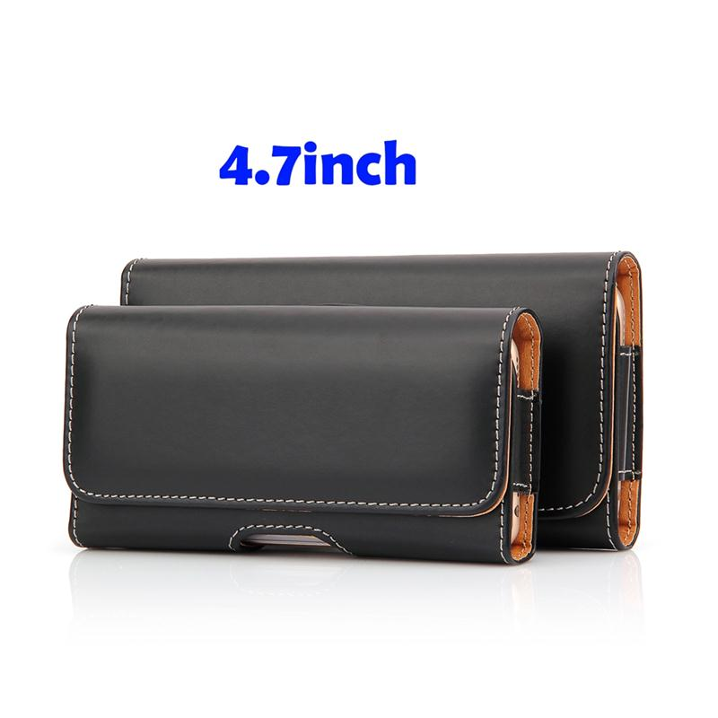 New arrival 4.7 inch cell phone pouch for men with high quality