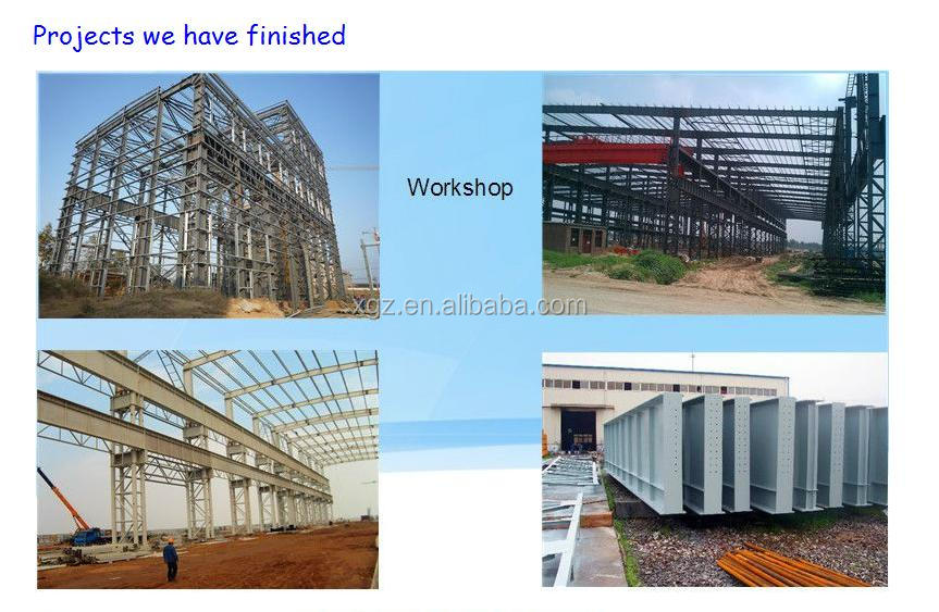 pre built buildings/pre formed sheet steel/light prefab steel sheds building