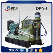1000m mineral exploration drilling rig, DF-Y-4 mining core drilling rig with wire-line tools