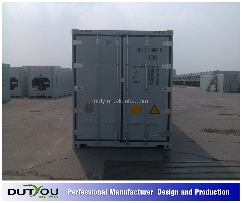 Chinese used reefer container price/ Carrier 10 foot 20 ft 40ft Reefer Refrigerated Container