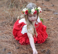 Custom elastic flower headband crown for baby and kids