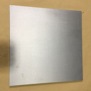 Alkali wash pure molybdenum machined plate used in furnace vacuum