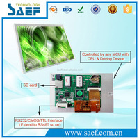 industrial RS232 TFT LCD module 7 inch 800x480 touch screen for auto electronics