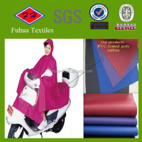 210T PVC Coated Polyester Taffeta Fabric