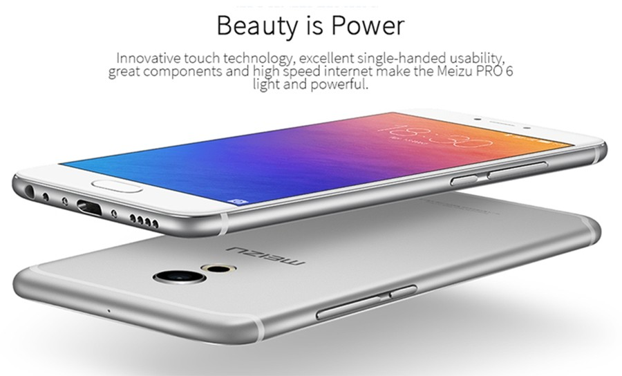 Meizu Pro 6 Mobile phone 4GB RAM 32GB/64GB ROM Helix 25 5.2-inch 21.16MP Camera mCharge 3.0