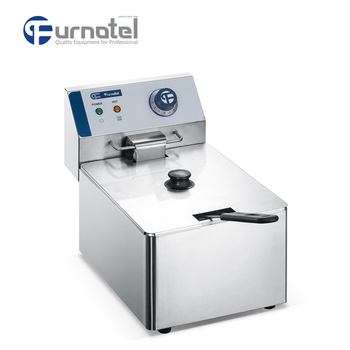 Furnotel Counter Top 1 Tank 1 Basket Electric Deep Fryer