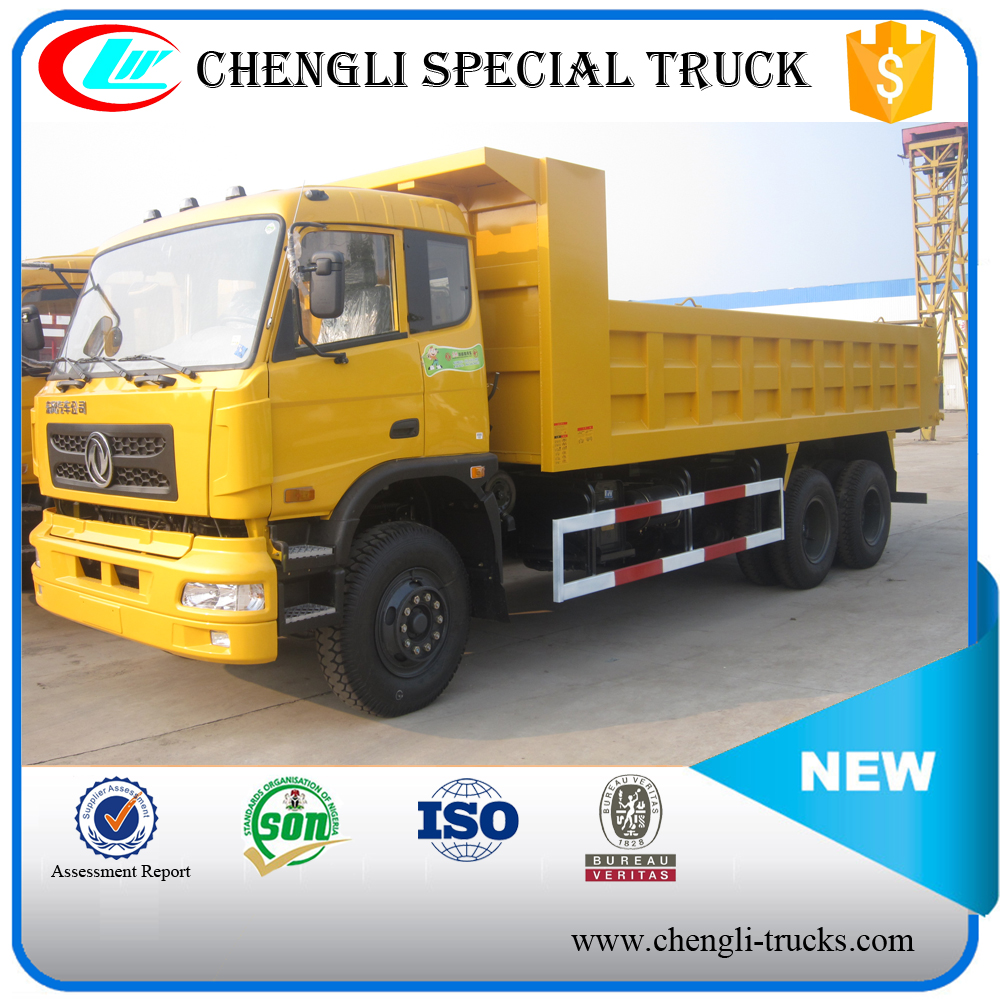 Used DONGFENG 6*4 300hp Heavy Duty Sand Carrier Dump Truck 18ton Lorry Truck