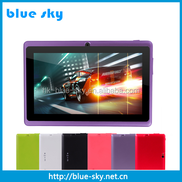 "2016 Wholesale 7"" Allwinner A33 Android Tablet Q88 With CE ROHS"