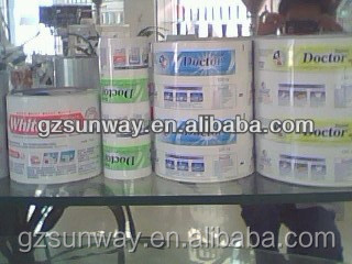 Laminated Web for Soft Packaging Tube