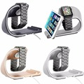 2017 Newest U style aluminum charging stand for apple watch holder charing dock