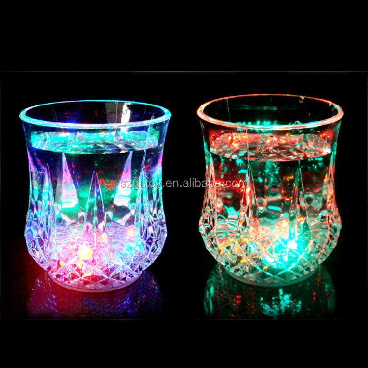 PS led flashing cup for kids