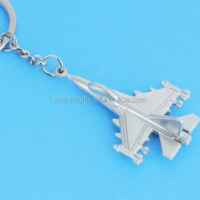 Most popular metal airplane key chains with free mold charge