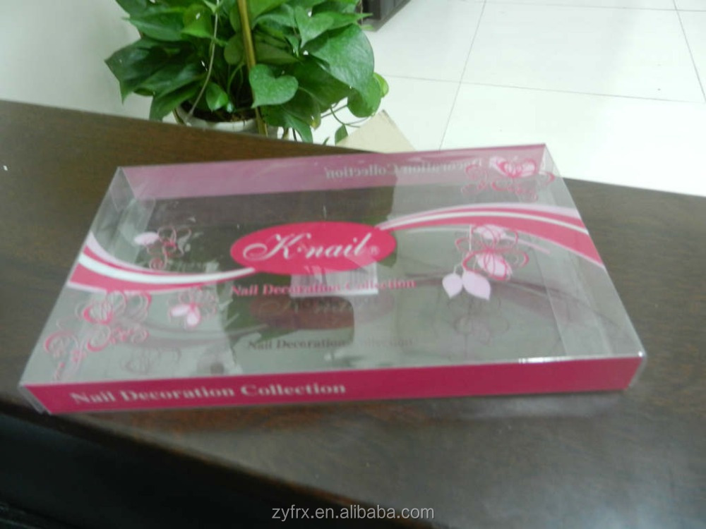Special plastic pvc gift box for pie