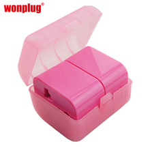 wholesale world travel adapter for business gift with eu au uk us plugs
