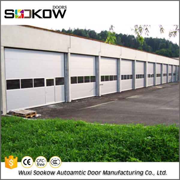 Factory Cheap price steel commercial industrial sectional door manufacturers sales