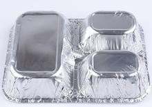 2016 High Quality Fast Food Aluminum Foil Container for Food Packing