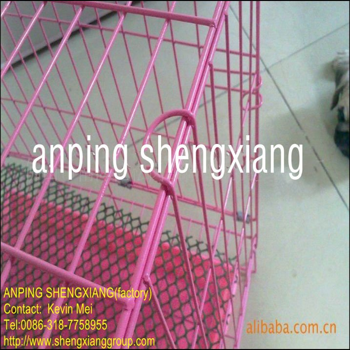 galvanized or pvc coated welded Pet Cage Eco-Friendly (factory)ISO14001