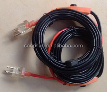 anti-freeze electric water pipe heating cable for pipe, frost protection heating cable (GS CE IP68 certificate)