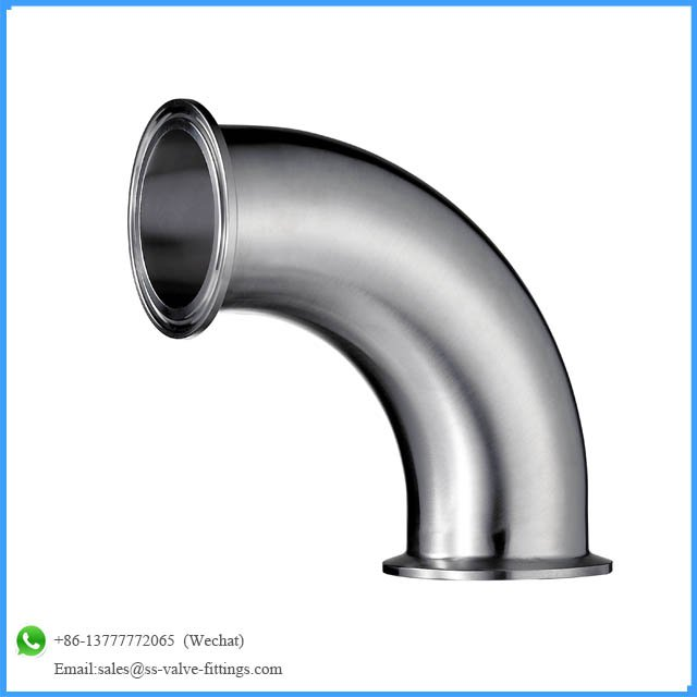 S Line Fittings ,pipe fitting elbow with clamp end