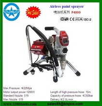 Electrical high pressure airless paint sprayer