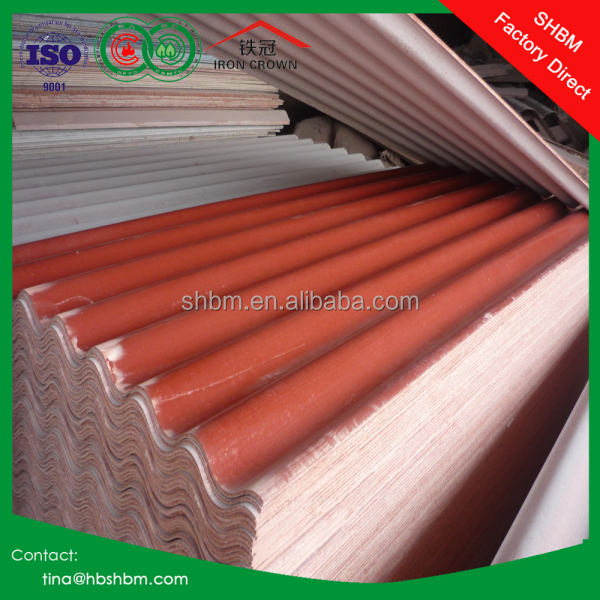 High strength anti corrosion insulation long life service of different types of kerala clear corrugated plastic roof sheet