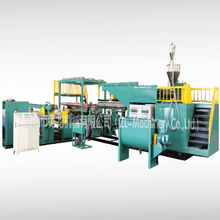 Nouveau design extrusion coating laminage machine