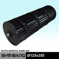 cross flow blade for air conditioner, blower wheels for mini splits air conditioning fan wheels