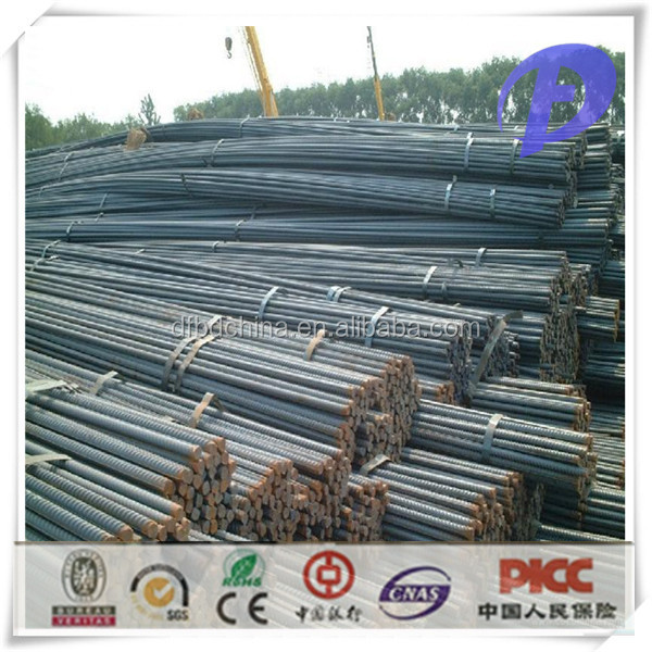 Korea Standard SD400 Hot Rolled Deformed Bars Rebars
