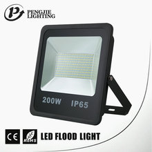 Portable aluminum alloy outdoor IP65 waterproof led flood light 200w