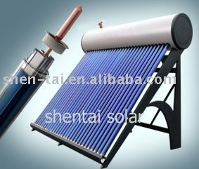 home appliance - solar hot water heater with vacuum tubes