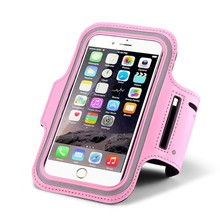 Adjustable Colorful Arm Wrist Pouch Bag Safety Armband Case Cellphone Jogging Cycling Reflective Armband