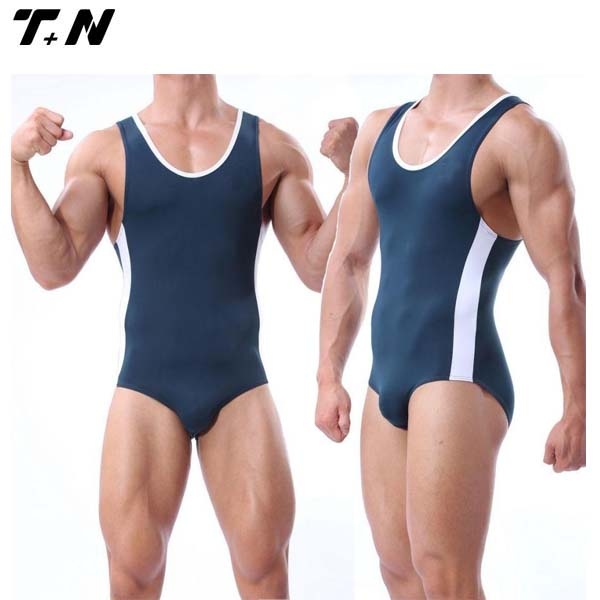 Blank cheap mens wrestling singlets for sale China manufacturer