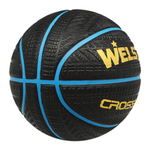 Super Grab Tyre Surface Rubber Tire Basketball with Bright Red Yellow Blue line