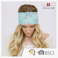 On Sale Handmade Ladies Wholesale Womans Wide Lace Headbands For Adults