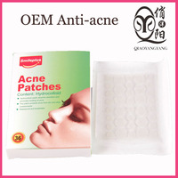 Hydrocolloid Invisible acne remover patches for pimples treatment with sterile stick