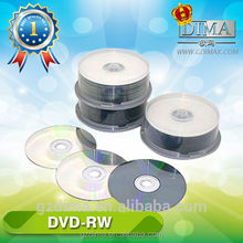 Hot selling high recording speed wholesale blank dvd rw