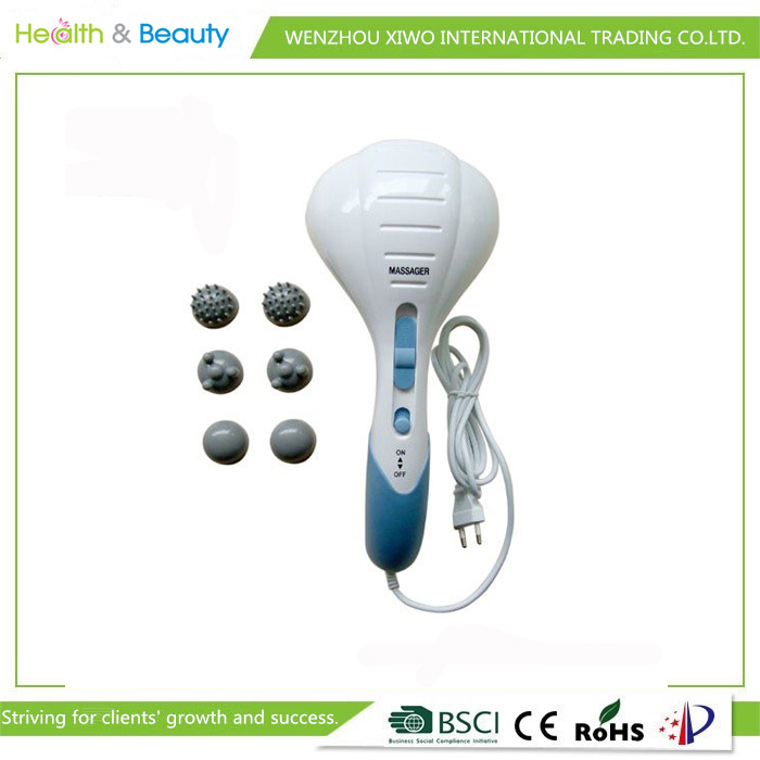 Double head mssage hammer gogo body massager electronic massage stick