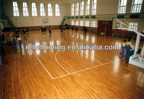 gym pvc wooden flooring for sports court with waterproof