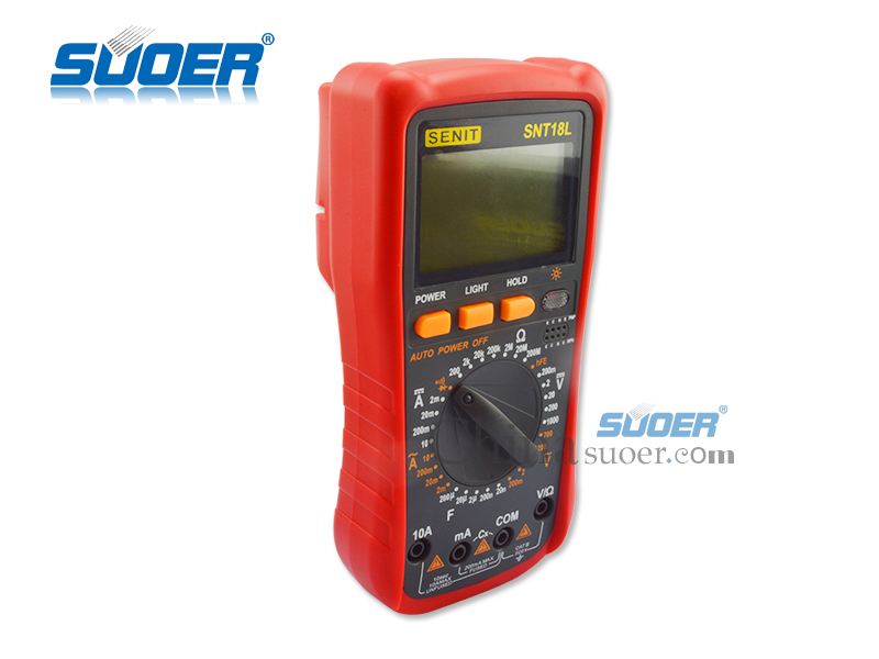 Suoer High Quality Digital Multimeter with Factory Price