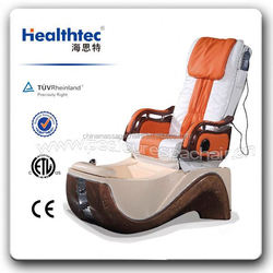 healthtec pedicure spa chair with auto back forward and backward