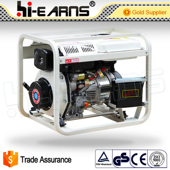 3KW electric air cooled single phase diesel generator