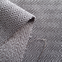 wavy pattern polyester nylon velvet waterproof sofa fabric home textile